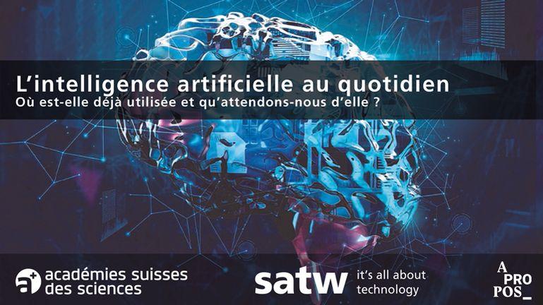 L'IA au quotidien – participation à la soirée organisée par la SATW