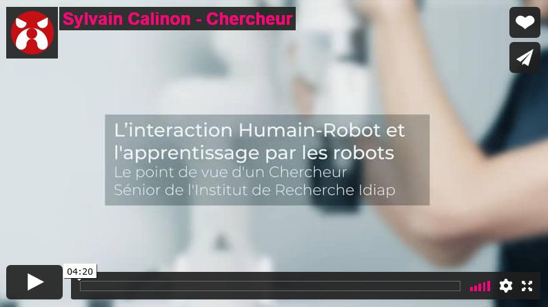 L'apprentissage par les robots